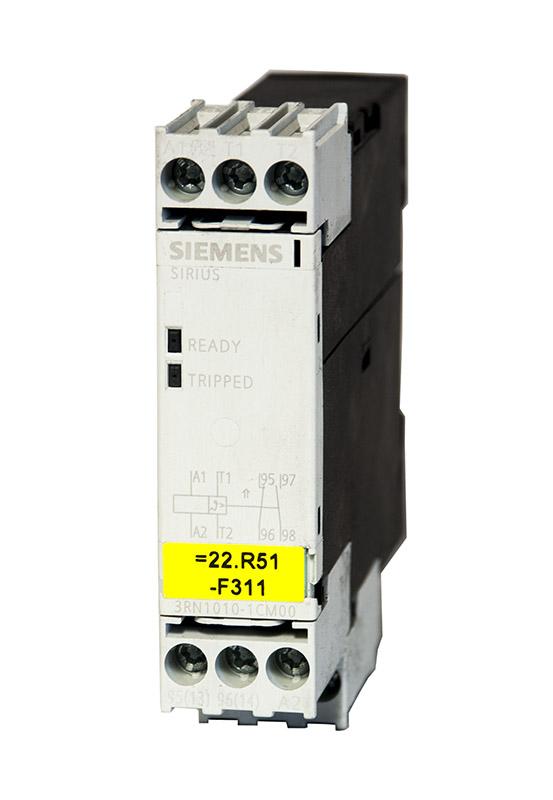 SIEMENS 3RN1010-1CM00 E4 Thermistor-Motorschutz Standard-Auswertegerät AUTO