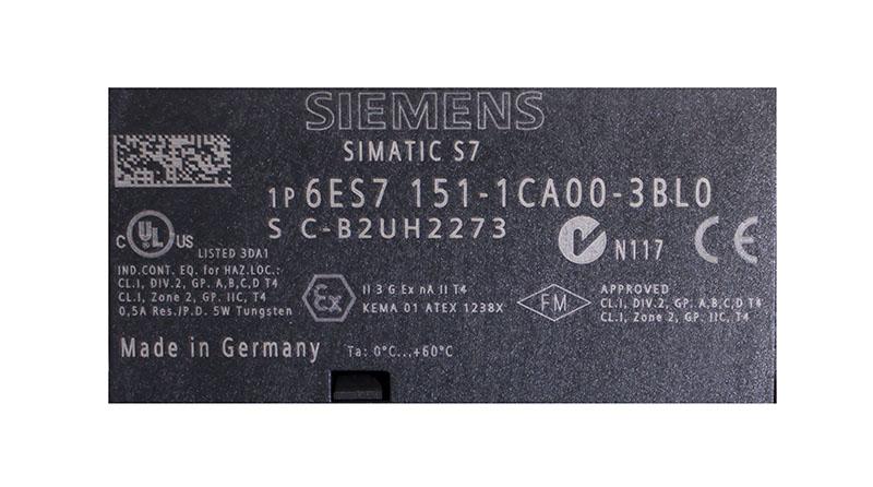 Siemens 6es7151-1ca00-3bl0 SIMATIC s7